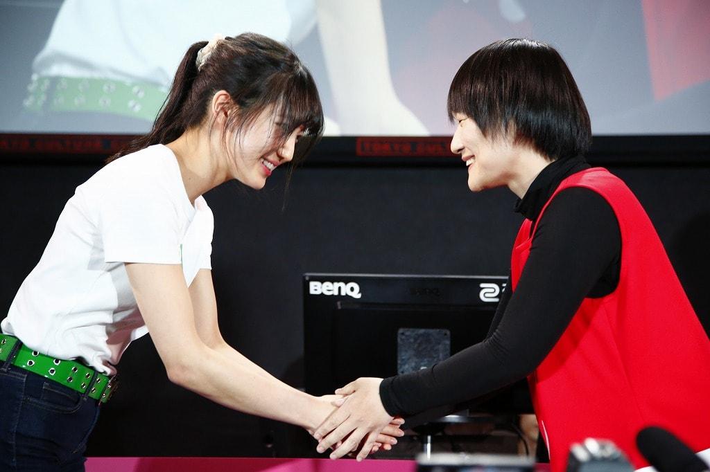 Day2最後の対戦となる第3試合は、BlueWeeds VS Shochiku Sisters